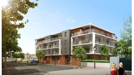 Appartement neuf Bleu Horizon éco-habitat à Orléans
