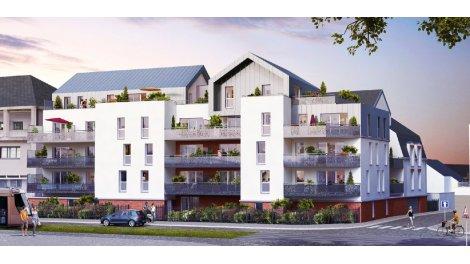 Appartement neuf Le Stuart éco-habitat à Orléans