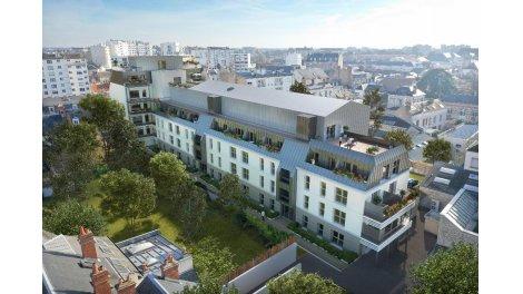 Appartement neuf Résidence le 125 Faubourg éco-habitat à Orléans