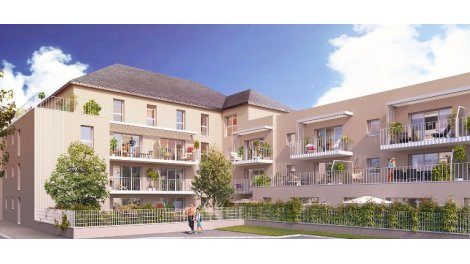 Programme immobilier neuf éco-habitat Villa Saint Jean à Saint-Jean-de-la-Ruelle