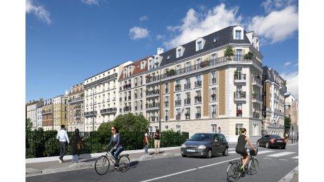 Programme immobilier loi Pinel Villa Aubert à Vincennes