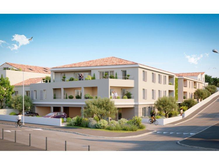 Harmonie immobilier neuf Aix-en-Provence Bouches-du-Rhône